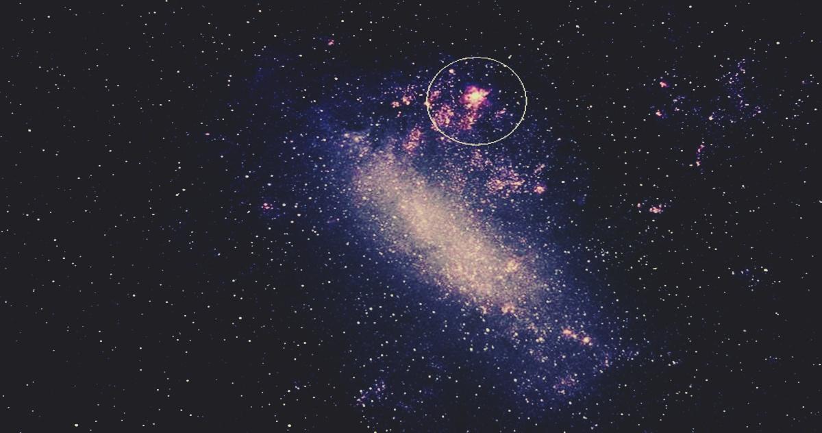 la galaxia nube de magallanes 2
