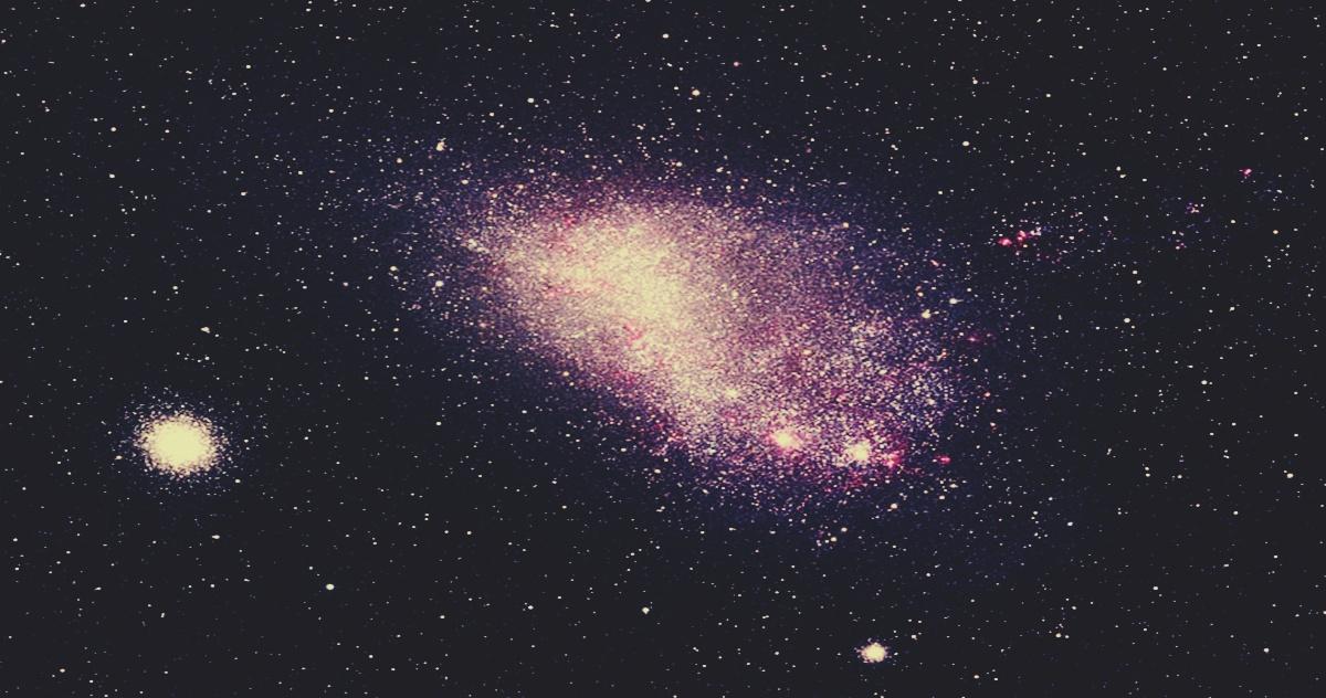 la galaxia nube de magallanes